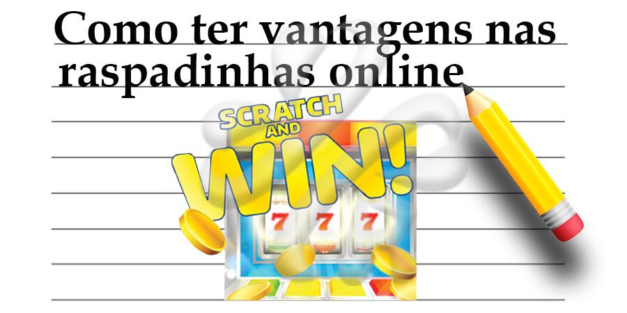 Vantagens de jogar raspadinhas online