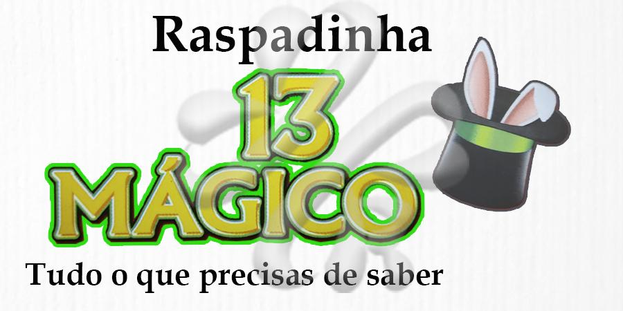 Raspadinha 13 Mágico, a mais recente da Santa Casa